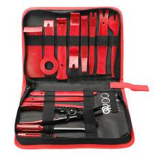 19 Pcs Car Trim Removal Molding Tool Kit Panel Door Pry Dash Interior Clip Set