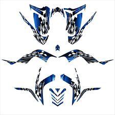 Raptor 700 graphics 2006 2007 2008 2009 2010 2011 2012 deco kit NO2500 Blue