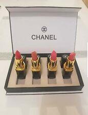 CHANEL makeup geschenk set : 4 lippenstifte Top Neu OVP