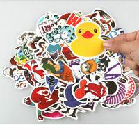 100PCS Stickers Skateboard Graffiti Laptop Car Luggage Decals Wholesale Sticker