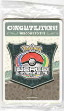 Pokemon 2018 World Championship Sealed Champions Festival Promo Pack Nashville