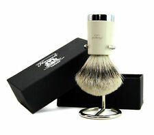 Men Shave's Silver Tip Badger Hair Shaving Brush and Brush's Stand by Haryali