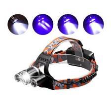 UV Headlamp Waterproof Headlight 4 Mode 5000LM Bicycle Night Fishing Torch Light
