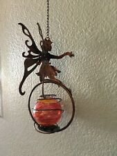 Really Cute Hanging Metal Angel With Wings