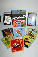 Peaceable Kingdom Alphabet Match Up Game Hard to Find! Educational Cards Euc!