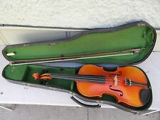 Vintage Antonius Stradivarius Copy Violin * Must See! No Reserve!