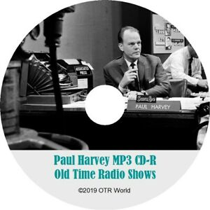 Paul Harvey The Rest Of The Story Old Time Radio OTR MP3 On CD 663 Episodes