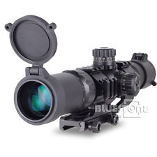 Tactical Aim Sports 1.5-4X30 Tri-illuminated Mil-dot Sight Recon Rifle Scope New