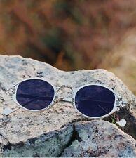 Popular Gothic Small Oval Punk Sunglasses Retro Metal Steampunk Eye Wear Fashion