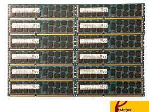 64GB (8 X 8GB) PC3-12800R DDR3 1600 ECC Reg RAM Memory Supermicro X9DRi-F