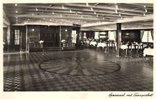 15732/ Foto AK, Dampfer M.S. Monte Pascoal, Speisesaal und Tanzparkett, 1934