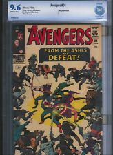 Avengers # 24 CBCS 9.6  Off White to White Pages. UnRestored.