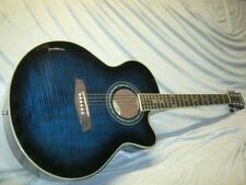 Nashville Acoustic blueburst FLAME TOP