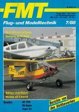 Fmt8807 plan de bâtiment mt-970 RC-performances martinets SUPER JET + FMT 7/1988