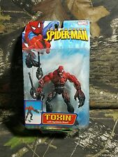 NEW MOC ToyBiz Amazing Spider-Man Toxin with Symbiote Blast Action Figure HTF