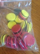 Magnetic Two-Color Counters, Set of 40 Excellent condition