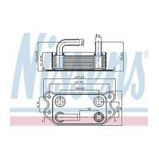 Nissens 90670 Oil Cooler fit PEUGEOT 207  06