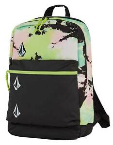 Volcom School 26L Backpack - Hilighter Green - New