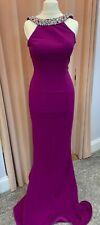 Pia Michi 1221 Magenta Purple Prom Evening Gown Size 6 BNWT