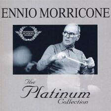ENNIO MORRICONE THE PLATINUM COLLECTION ORIGINAL SOUNDTRACK 3 X CD BRAND NEW