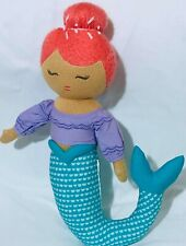 Pillowfort 2017 Mermaid Knit Decorative Pillow Plush Doll Discontinued Medium