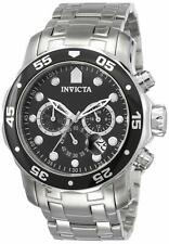 """Invicta Mens """"Pro Diver Collection"""" Stainless Steel Watch"""