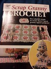 Scrap Granny crochet pattern book Annie's Attic