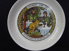 Wedgwood 1982 Children's Stories The Lady And The Lion Brothers Grim Plate Mib