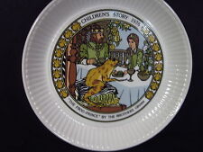Wedgwood 1978 Children's Stories The Frog Prince Brothers Grim Plate Mib