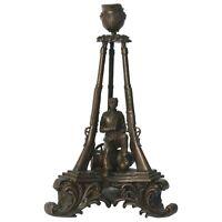 Kerzenhalter Bronze Gedenk Skulptur Kriegsveteranen Kerzenleuchter Kerzenständer