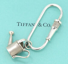TIFFANY&Co Watering Can Key Ring Silver 925 w/BOX #1267