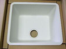 SCHOCK Idea N100 Küchen Einbaubecken Uni Pearl Weiß 45x33 flächenbündig Unterbau