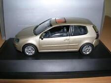 Schuco VW volkswagen golf v, oro metalizado 1:43