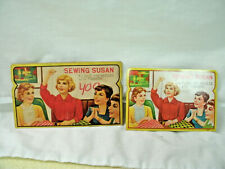 Vintage Advertisng *SEWING SUSAN*-- Sewing Needle Books--1950's-Lot of 2