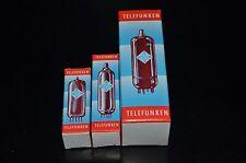 16 pcs TELEFUNKEN Tube Boxes THREE SIZES (Noval / Octal ) ECC83 EL84 EL34 GZ34