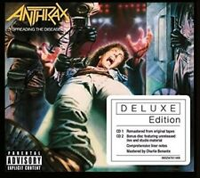 Anthrax - Spreading The Disease 2 X CD Deluxe Edition 2015 Digipack