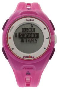 Timex Ironman Run x20 GPS Fitness Watch Purple, Color: Purple