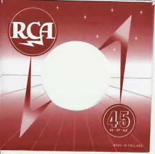 1 FIRMENLOCHCOVER * RCA rot * UK * Repro COVER * NEU * SINGLE AUFWERTUNG