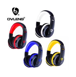 OVLENG MX666 Bluetooth Wireless Speaker Headphones