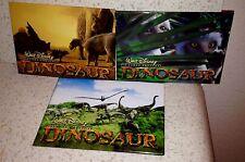 Walt Disney Dinosaur Movie Set of 3 Vintage Pinback Badges/Pin
