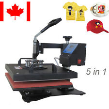 Heat Press Transfer Digital T-Shirt mug hat Sublimation Machine Swing -away