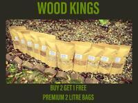BBQ SMOKING WOOD CHIPS 2L PREMIUM BAG