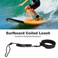 1*Surfbrett Knöchel Leine Seil aufgewickelt Stand UP Paddle Board surfen Schnüre
