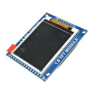 1.8 Inch Mini Serial SPI TFT LCD Module Display with PCB Adapter ST7735B IC MT
