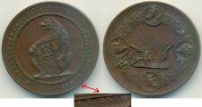 Bernburg 1888, Medaille 50 Jahre Landwirtschaftlicher Verein, Bär mit Wappen