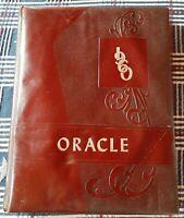 "1960 Gloversville, Upstate NY High School yearbook ""Oracle"""