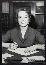 Germaine Damar-movie photo postcard-AK-Foto Autografo mappa (Lot g-6015
