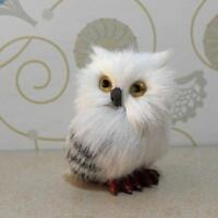 Harry Potter Realistic Hedwig Owl Toy Mini Simulation Model Christmas Gift US