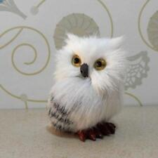 Cute  Realistic Hedwig Owl Toy Mini Simulation Model Christmas Gift New