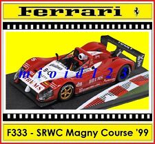1/43 - Ferrari F333 SP brums - 1° SRWC Magny Cours 1999 - Die-cast [ 333 ]